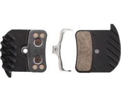 Bremsebelegg Shimano H03c Med Kjølekropp Metallic 1 Par