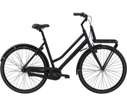 Damcykel Black Winther Cargo svart