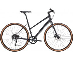 Hybridcykel Nishiki Comp Nine Dam svart