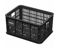 Plastback för pakethållare Basil Bicycle Crate S Synthetic 25 L Black