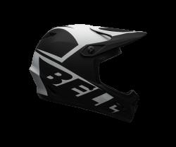 Cykelhjälm Bell Transfer svart/vit