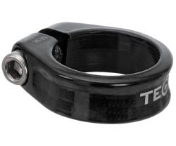 Sadelstolpsklamma TEC 286mm svart