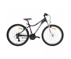"MTB Saveno Carrera Jr 26"" svart"