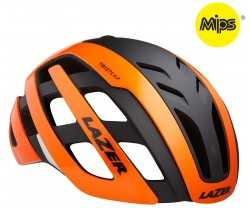 Hjälm Lazer Century MIPS +Led orange/svart