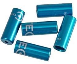 Ändhylsa Växelhölje TEC 4 mm blå