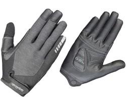 Handskar Gripgrab Progel Fullfinger dam grå