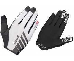 Handskar GripGrab Racing InsideGrip Full Finger vit/svart