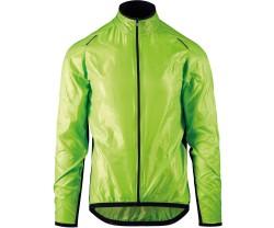 Jacka Assos Mille GT Wind hi-vis grön