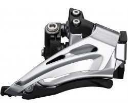 Framväxel Shimano Deore FD-M6025-L 2 växlar low clamp bottom pull