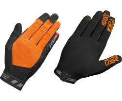 Handskar GripGrab Vertical InsideGrip Full Finger hi-vis orange