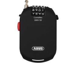 Vajerlås Abus Combiflexs 2503 2.5 x 1200 mm svart