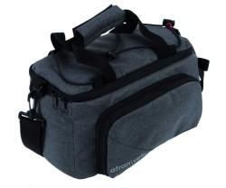 Bagatran Velo Zap Top Bag 18.5 L Grå