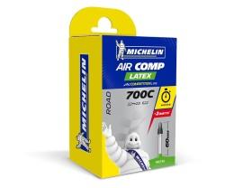 Polkupyörän sisäkumi Michelin Aircomp Latex A1 22/23-622 presta-venttiili 60 mm