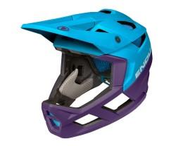Cykelhjälm Endura MT500 Full Face Blå