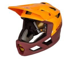 Cykelhjälm Endura MT500 Full Face Röd