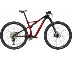 MTB Cannondale Scalpel Carbon 3 röd