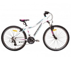 "MTB Saveno Carrera Jr 26"" vit"