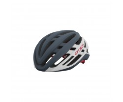 Cykelhjälm Giro Agilis Mips grå/vit/röd