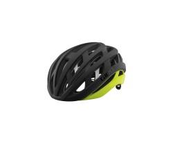 Cykelhjälm Giro Helios Spherical Mips Svart/Gul