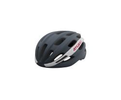 Cykelhjälm Giro Isode Mips grå/vit/röd