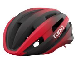 Cykelhjälm Giro Synthe Mips II svart/röd