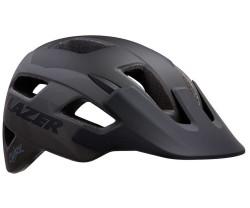 Cykelhjälm Lazer Chiru matt svart/grå