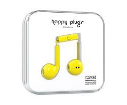Hörlurar Happy Plugs Earbud Yellow