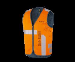 Reflexväst Wowow Urban Hero Jacket orange/reflex