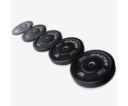 Viktskiva Bumper Master Fitness Bumperplate 20 KG