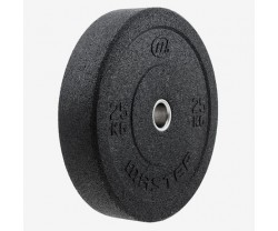 Viktskiva Bumper Master Fitness Hi Impact Bumper 20 KG