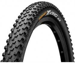 "Däck Continental X-King Performance 55-584 (27.5 x 2.20"") vikbart svart"