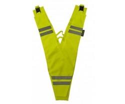 Heijastinkaulus Wowow Collat for Adults keltainen/heijastava