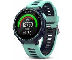 Urheilukello Garmin Forerunner 735 X T Triathlon Bundle Midnattsblue/Frostigt Blue