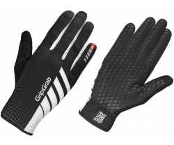 Handskar GripGrab Raptor Windproof Lightweight Raceday Full Finger svart
