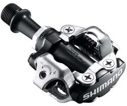 Pedaler Shimano PD-M540 svart inkl. pedalklossar