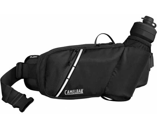 Midjebälte Camelbak Podium Flow Belt 2.5 l med 620 ml flaska svart