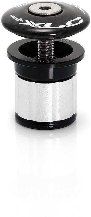 Täcklock + Expander XLC AP-C01 23-24 mm svart/silver | Styrfittings