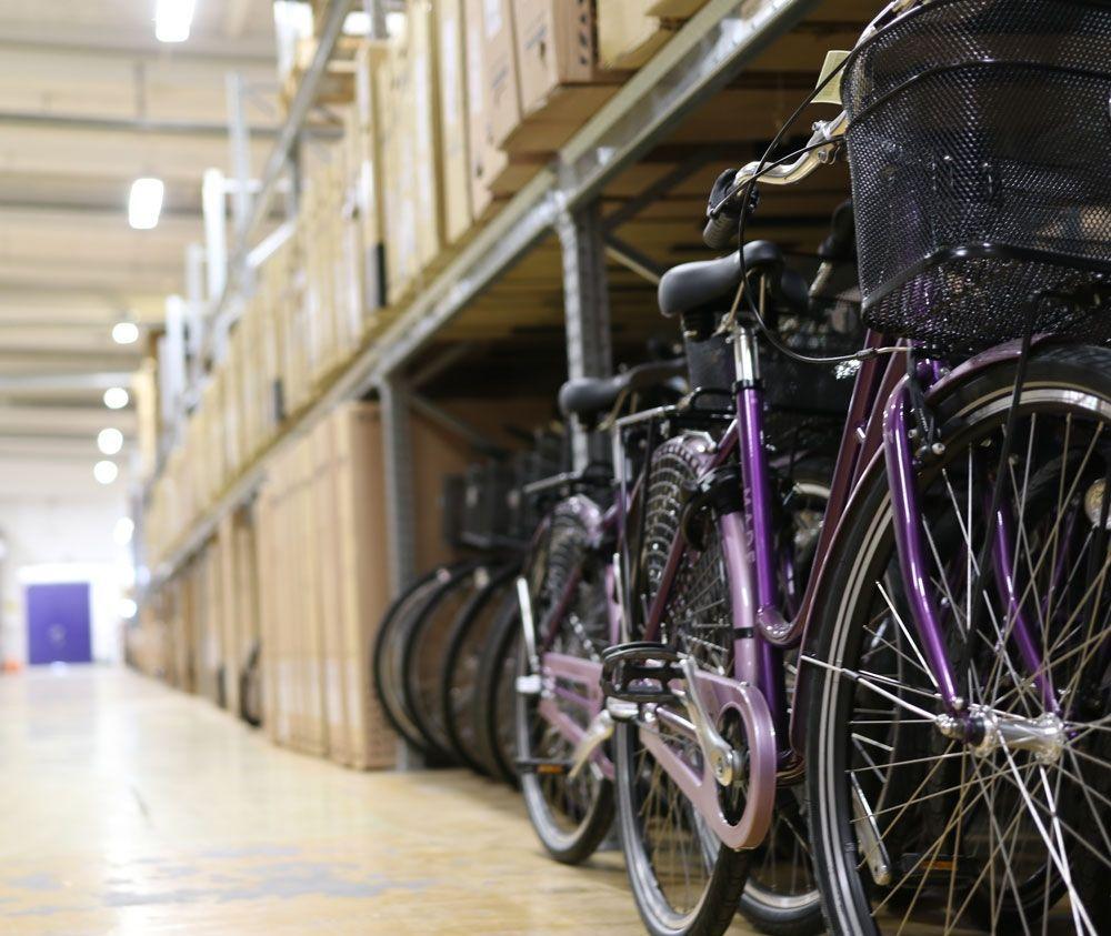 Bild från cykellagret